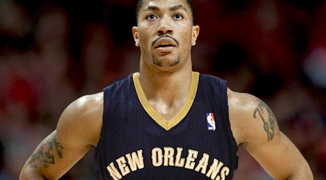 Derrick Rose Pelicans