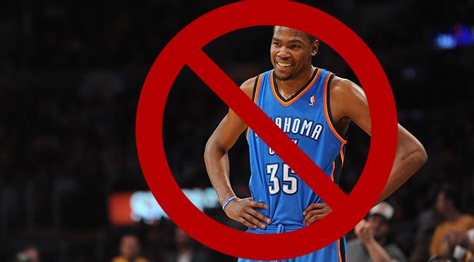 Kevin Durant no