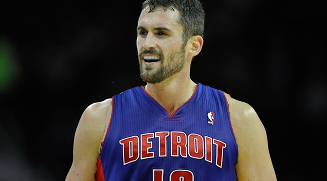 Kevin Love Pistons
