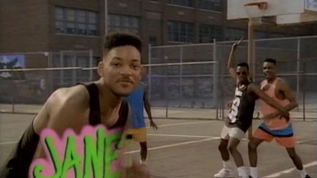 Fresh prince of bel air basketball