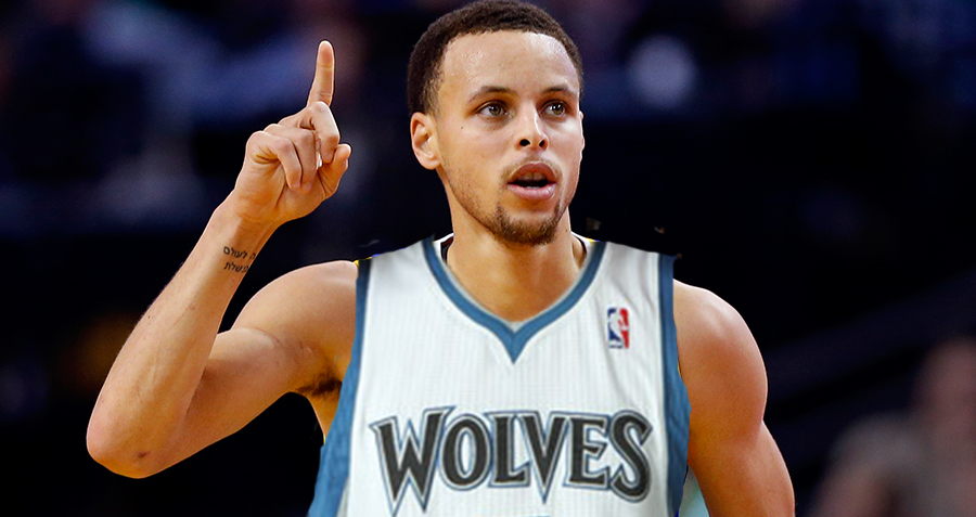 What if Minnesota Drafted Stephen Curry?