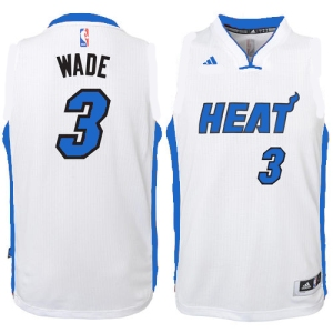 Heat Blue and White Jersey