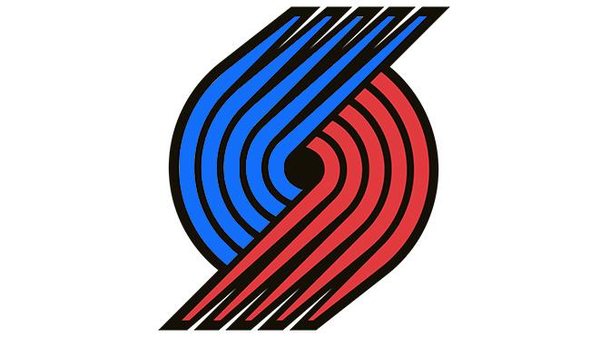 Blazers Patriotic Logo