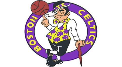 Celtics Lakers Logo1