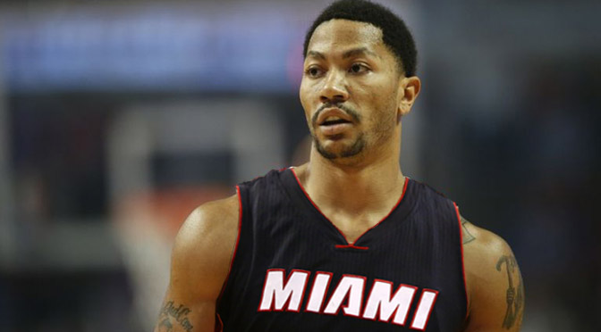 Derrick Rose Heat