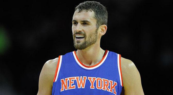 Kevin Love Knicks 1