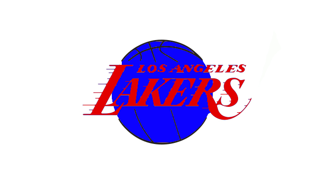 Lakers Patriotic Logo