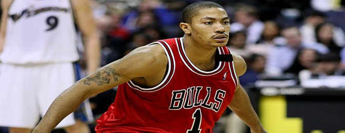 Derrick Rose Looks Like an Evil Chef