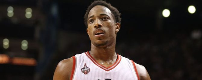 DeMar DeRozan is the 38th Best Player in Basketball