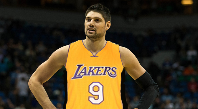 Vucevic Lakers